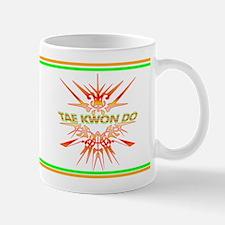 TaeKwonDo Abstract Sparring Mug