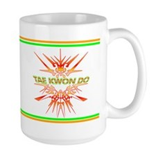 TaeKwonDo Abstract Sparring Mug