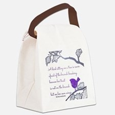 Her own wings Canvas Lunch Bag
