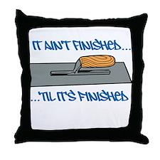 Finishing Trowel Throw Pillow