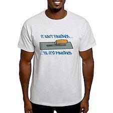 Finishing Trowel T-Shirt