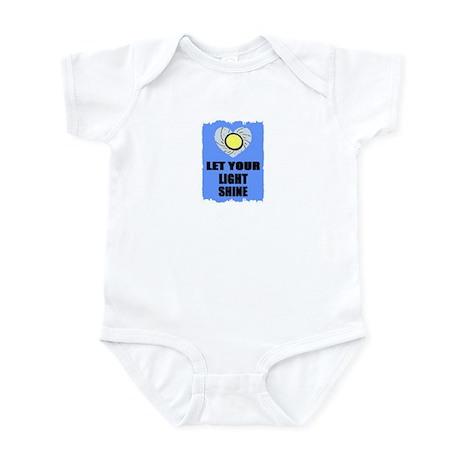 LET YOUR LIGHT SHINE Infant Bodysuit