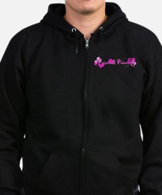 Paintball Princess Zip Hoodie