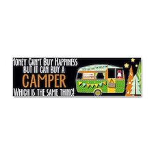 Unique Happy camper t Car Magnet 10 x 3