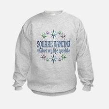 Square Dancing Sparkles Sweatshirt