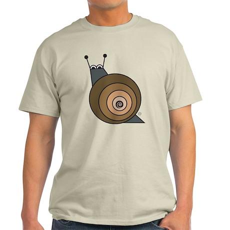 Snail Natural T-Shirt