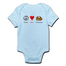 Peace Love Pancakes Infant Bodysuit