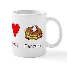 Peace Love Pancakes Mug