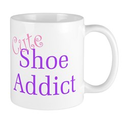 Cute Shoe Addict Mug