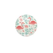 Pink Flamingos Mini Button (10 pack)