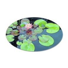 Lily Pads with Frog Wall Decal