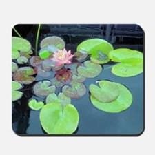 Lily Pads with Frog Mousepad
