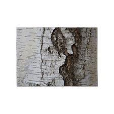 Birch tree 5'x7'Area Rug