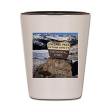 Loveland Pass Shot Glass
