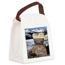 Loveland Pass Canvas Lunch Bag