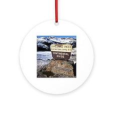 Loveland Pass Round Ornament