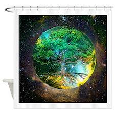 Health Healing Shower Curtain