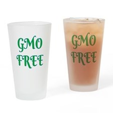 GMO FREE Drinking Glass
