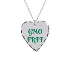GMO FREE Necklace Heart Charm
