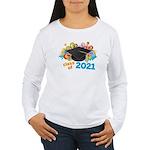 2021 graduation Women's Long Sleeve T-Shirt