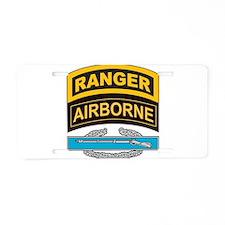 Cute Army ranger Aluminum License Plate