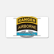 Cute Army ranger Aluminum License Plate