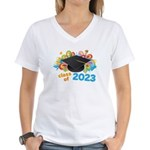 2023 graduation Women's V-Neck T-Shirt