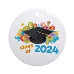 2024 graduation Ornament (Round)