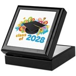 2028 graduation Keepsake Box