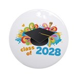 2028 graduation Ornament (Round)