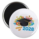 2028 graduation Magnet