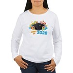 2028 graduation Women's Long Sleeve T-Shirt