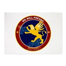 NROL-27 Program Logo 5'x7'Area Rug