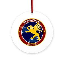 NROL-27 Program Logo Ornament (Round)