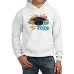 2029 graduation Hooded Sweatshirt
