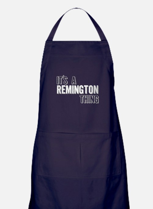 Its A Remington Thing Apron (dark)