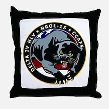 NROL-15 Program Throw Pillow