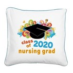 2020 graduation Square Canvas Pillow