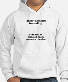 Not addicted to reading Jumper Hoody