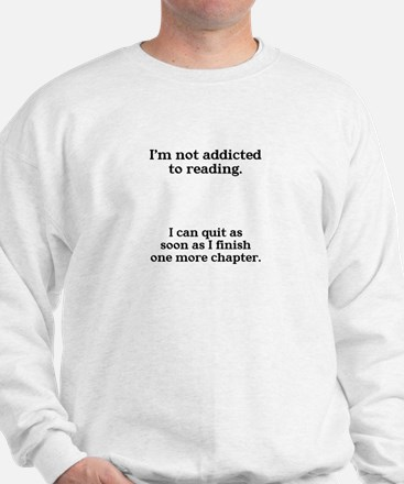 Not addicted to reading Jumper