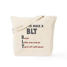 How to make a BLT Tote Bag