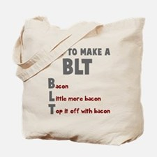 How to make a BLT Tote Bag