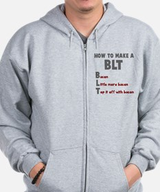 How to make a BLT Zip Hoodie