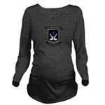 USS ARCADIA Long Sleeve Maternity T-Shirt