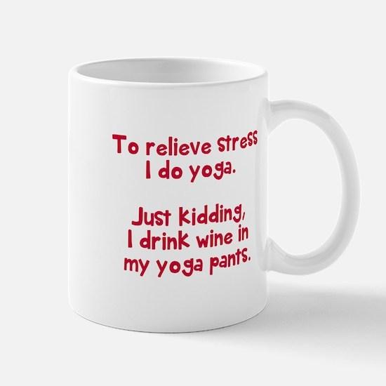 drink wine in Mug