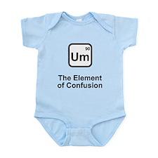 Um Element of Confusion Infant Bodysuit