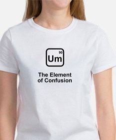 Um Element of Confusion Women's T-Shirt