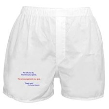 Unique School nursing Boxer Shorts