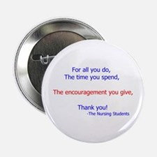 """Cute Instructor 2.25"""" Button (10 pack)"""