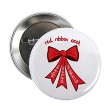 "Red Ribbon Week 2.25"" Button (100 pack)"